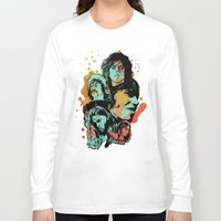 floyd Long Sleeve T-shirts featuring Pink Floyd Tribute by RJ Artworks