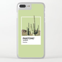 Pantone Series – Cactus Clear iPhone Case