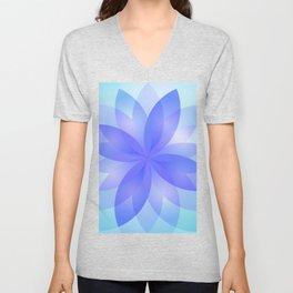 Abstract Lotus Flower G303 Unisex V-Neck