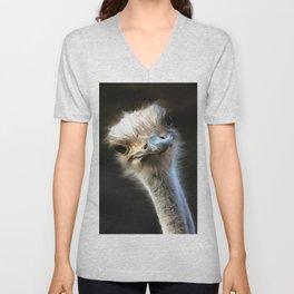 Ostrich Head Unisex V-Neck