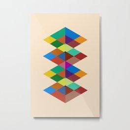 Abstract #721 Metal Print