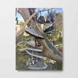 Shoe tree Metal Print