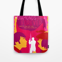 James Bond Golden Era Series :: Diamonds Are Forever Tote Bag