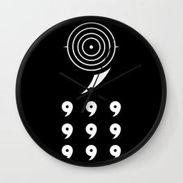 6 Paths V2 Wall Clock