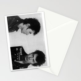 Sid Vicious Mugshot Stationery Cards