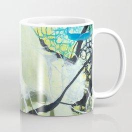 Everglades - Square Abstract Expressionism Coffee Mug