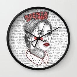 Positive Propaganda Wall Clock