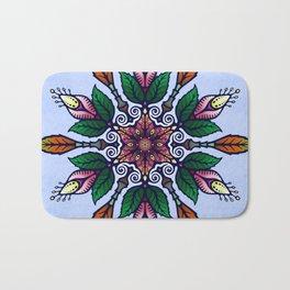 Flower Mandala 1 Bath Mat