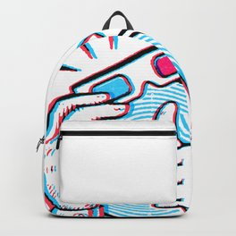Third Dimension Be Bitchin! Backpack