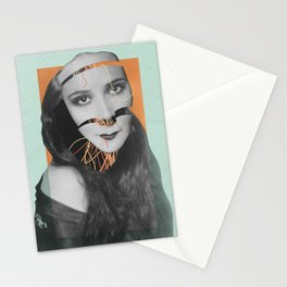 Discombobulated Five Stationery Cards