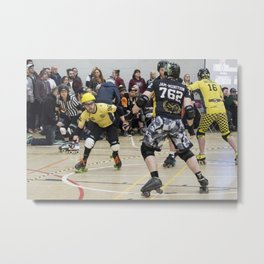 Jam-Munition in Action Metal Print