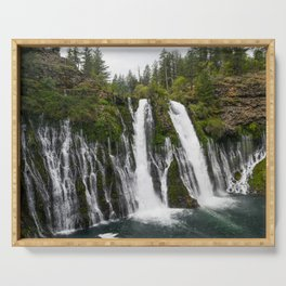 The Plunge (McArthur-Burney Falls) Serving Tray