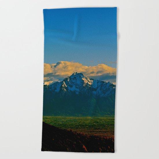 Pioneer Peak - Mat-Su Valley Beach Towel