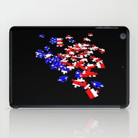 patriotic iPad Cases featuring patriotic jigsaw by Albin0
