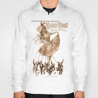 burlesque Hoodies featuring Bon-Ton Burlesque by taiche