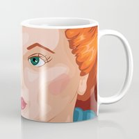 lucy Mugs featuring Lucy by Maxfield and Madison
