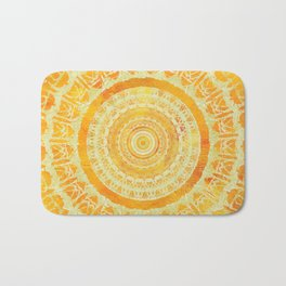 Sun Mandala 4 Bath Mat