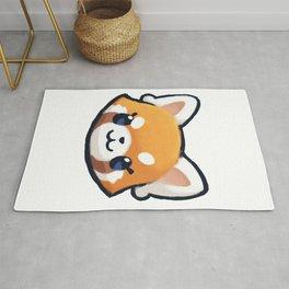 Cute Red Panda Rug