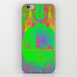 Garden of Earthly Delights - Fountain  iPhone Skin