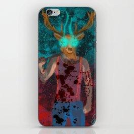 Hotline Miami deer mask guy iPhone Skin