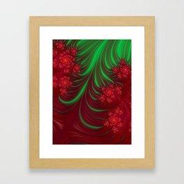 Christmas Flow - Fractal Art Framed Art Print