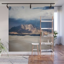 Sunlight on San Andres - Desert Scenery at White Sands New Mexico Wall Mural