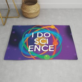 I DO SCIENCE Rug