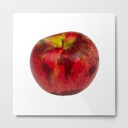 Globe Apple Metal Print