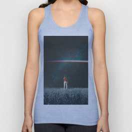 Saw The Light Unisex Tank Top
