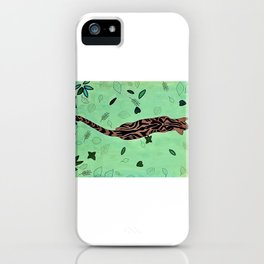 Walking Tiger iPhone Case