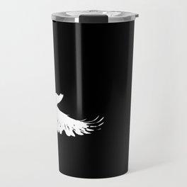 white crow Travel Mug