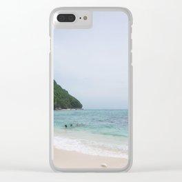 Bali Beach Clear iPhone Case