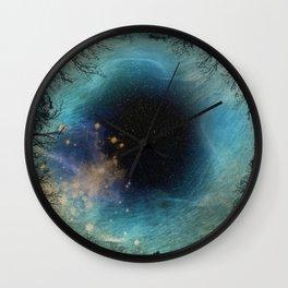 aurora borealis 1 Wall Clock