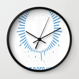 My Daughter Save Lives Wall Clock