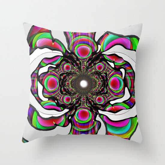 Suculent Throw Pillow