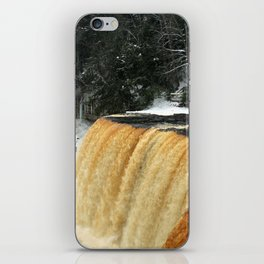 Wintry Waterfall iPhone Skin