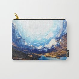 Artwork - Surreal Mountain Carry-All Pouch