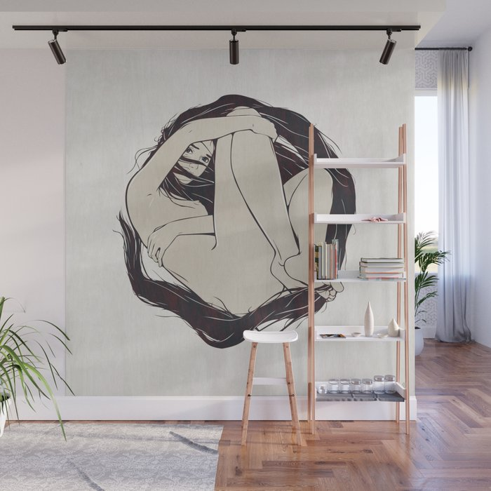 My Simple Figures: The Circle Wall Mural