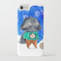 vader iPhone & iPod Cases featuring Vader by gunberk
