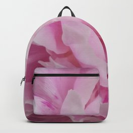 Floral Fun - Peony in pink 4 soft and billowy Backpack
