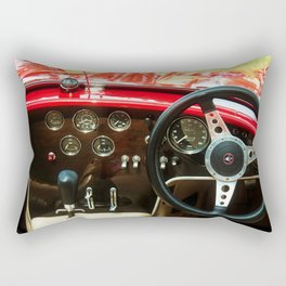 RED BRA COBRA Rectangular Pillow