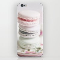 macarons iPhone & iPod Skins featuring Macarons by Photography by Karin A