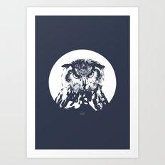 O-OWL Art Print
