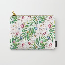 Glamorous Palm white Carry-All Pouch