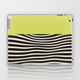 chartreuse green, Mid century modern, mid-century wall art, print, geometric wall art, abstract wall art, interior, matisse, picasso, drawing, decor, design, bauhaus, abstract, decoration, home, gift, contemporary, paint Laptop & iPad Skin