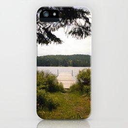 Lac Ménard iPhone Case