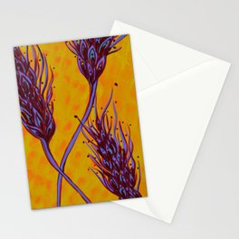 Seed Pods - Wheat Spikes Stationery Cards