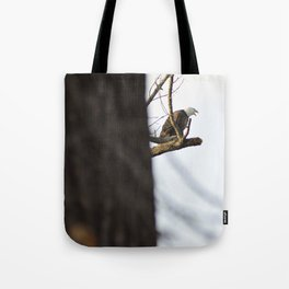 Eagle Hunting for Dinner Tote Bag
