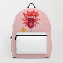 Mulled Wine watercolor Backpack
