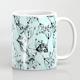 Summer grass , blue Coffee Mug